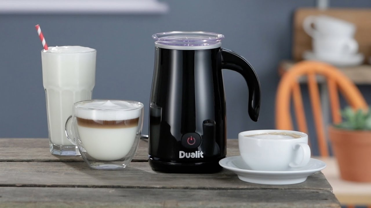 How to froth milk in the Dualit Milk Frother preview