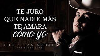 (LETRA) ¨MI ETERNO AMOR SECRETO¨ - Christian Nodal (Lyric Video)