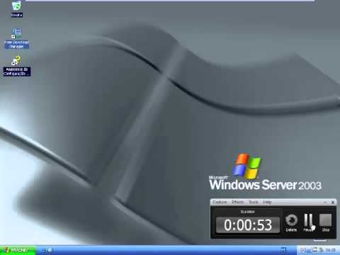 Windows Server 2003 Enterprise with Service Pack 2 (Portuguese Brazilian) In VMWare Workstation!