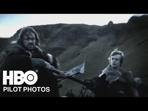 Unaired Pilot Episode Photos | Game Of Thrones (HBO)