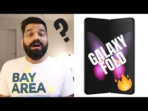Samsung Galaxy Fold - My Favorite Design 🔥🔥🔥