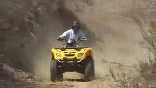 10. ATV Television Test - 2007 BRP Outlander 800