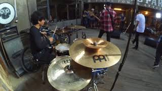 Aftercoma - Jelaga (Drum Cam)