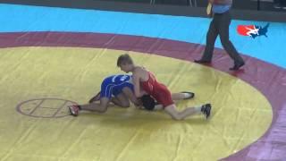 Cadet World FS - Nickal (USA) tech. fall Hovsepyan (ARM), 76 kg