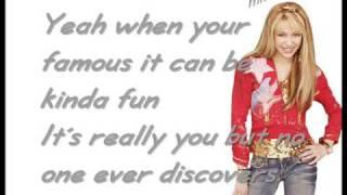 Download Lagu Hannah Montana - The best of both Worlds [w/Lyrics] HQ Mp3