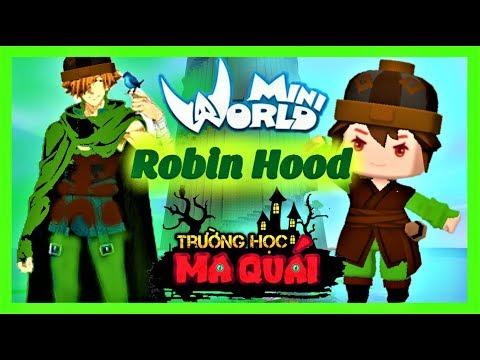 TRƯỜNG HỌC MA QUÁI: -tập 18- 1 ngày làm Robin Hood | Thử thách truy tìm kho báu trong truyền thuyết - Thời lượng: 12 phút.