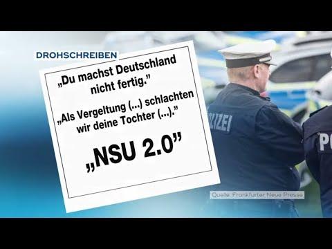 NSU 2.0: Polizist aus Mittelhessen nach Drohfax an Anwältin vorübergehend festgenommen