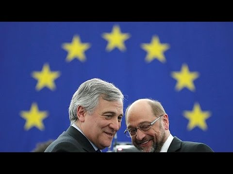 ΕΕ: Ο Μάρτιν Σουλτς παρέδωσε τη σκυτάλη στον Αντόνιο Ταγιάνι