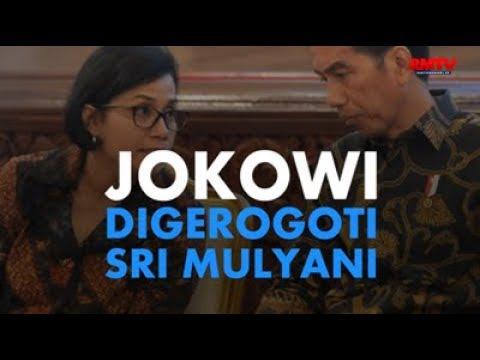 Jokowi Digerogoti Sri Mulyani