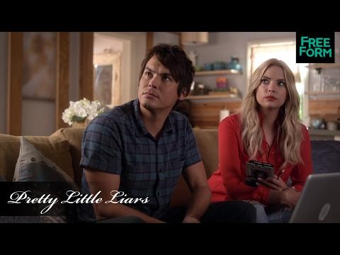 Pretty Little Liars | Season 6, Episode 15 Clip: Caleb, Hanna, & Spencer   | Freeform
