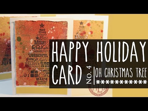 Happy Holidays Card Series # 4