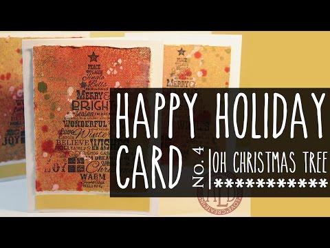 Happy Holidays Card Series # 4