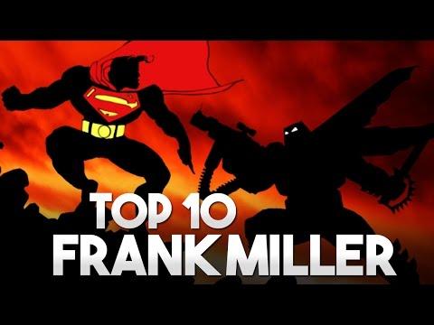 Top 10: Melhores quadrinhos do Frank Miller | Pipoca e Nanquim #208