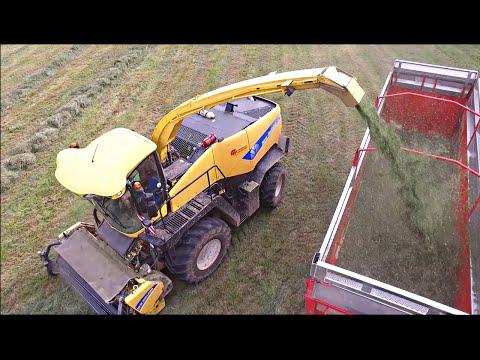 [DRONE] Ensilage New Holland  FR9060 Par L'ETA Leclercq