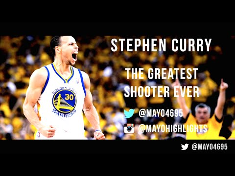 greatest - This video is a compilation of Steph Curry 3-pointers sorted out into different categories: (0:31) -