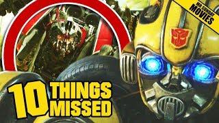 Video Bumblebee Trailer Breakdown - Easter Eggs & Things Missed MP3, 3GP, MP4, WEBM, AVI, FLV Desember 2018