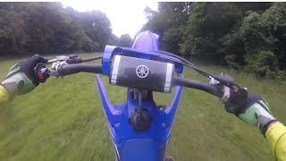 4. FIRST WOODS RIDE | 2018 YZ 250