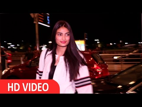 Athiya Shetty Spotted At Airport
