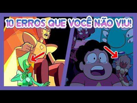 10 ERROS QUE VOCÊ NÃO VIU! #6 - Steven Universo (The Trial, Off Colors etc)
