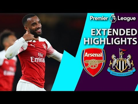 Arsenal V. Newcastle | PREMIER LEAGUE EXTENDED HIGHLIGHTS | 4/1/19 | NBC Sports