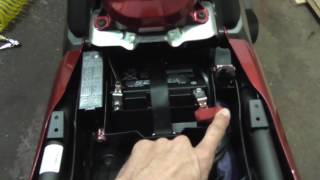 8. Honda CTX700DCT Battery Tender Installation