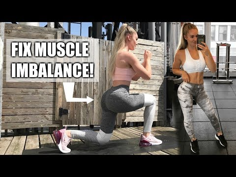 Fat burner - BEST WAY TO FIX MUSCLE IMBALANCE IN YOUR LEGS & GLUTES