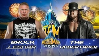 WWE Wrestlemania 29 Brock Lesnar Vs The Undertaker HD