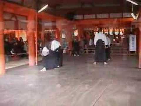Hontai Yoshin Ryu Jujutsu – 16th Itsukushima Kobudo Enbu