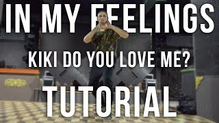 In My Feelings - Drake ( Kiki do you love me? ) Dance Tutorial @oleganikeev choreography ANY DANCE