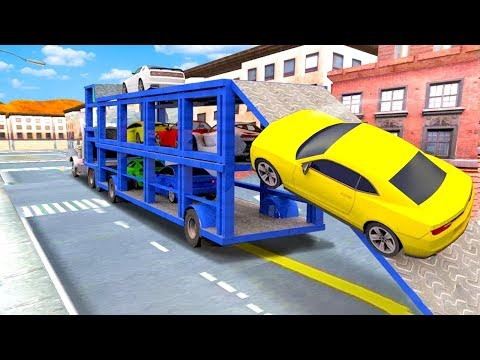 City Sports Car Truck Transport Simulator (by Free Games Arcade) Android Gameplay [HD]