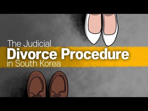 [Korean lawyer] The Judicial Divorce Procedure in South Korea