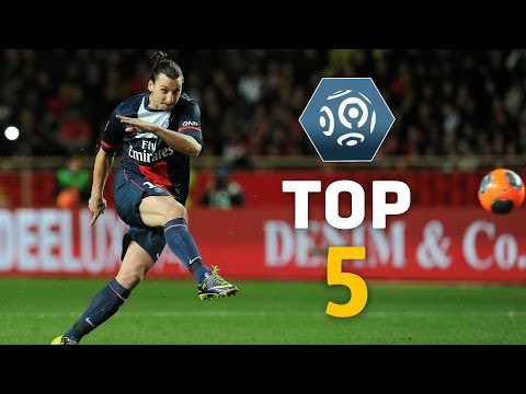 Zlatan Ibrahimovic - Top 5 Free Kicks - Ligue 1 / PSG