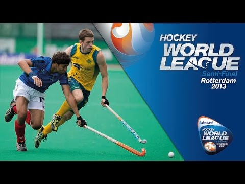 France - Australia took on France in the opening game on day five of the Men's Rabobank Hockey World League. Australia recorded a comprehensive 7-1 win to keep pressu...