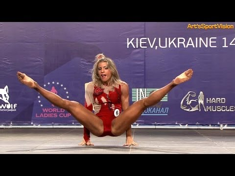 2013 World IFBB – MATOS Janaina (BRA) Women's FITNESS up to 163 cm – Round 1