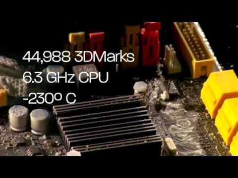 Overclocking de un AMD Phenom II a 6.5 Ghz a -232 grados de temperatura