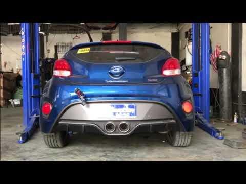 2017 Hyundai Veloster turboback air intake