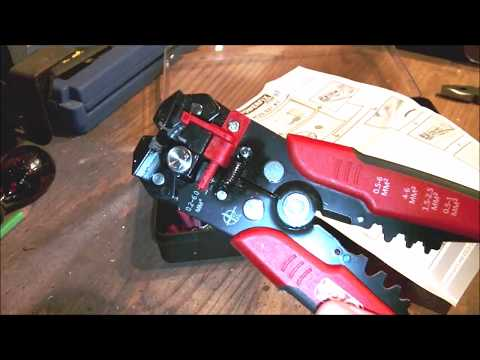 Powerfix (Lidl) Crimping Plier Set / Wire Strippers.
