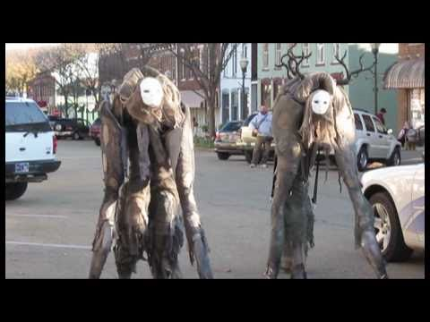 Costumes - READ BELOW FOR MATERIAL INFO TO MAKE COSTUME!!! We made 4 legged stilt costumes for halloween. We call them stilt spirits for lack of a better name. Mine has...