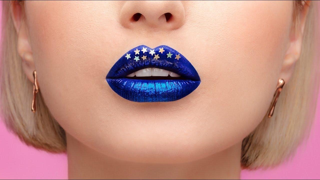 LABBRA DI FATA ♥ Make-up FANTASIA per diventare una FATA BLU