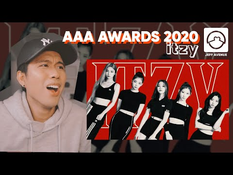 Performer Reacts to Itzy 'Wannabe' AAA Awards 2020 Performance Practice