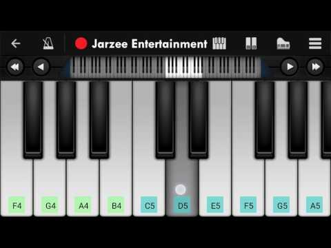 Video Mere Rashke Kamar - Mobile Perfect Piano Tutorial | Jarzee Entertainment download in MP3, 3GP, MP4, WEBM, AVI, FLV January 2017
