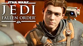 Star Wars Jedi: Fallen Order — Official Extended Cut 4K Gameplay Demo by GameSpot