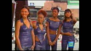 Destiny's Child  in 1999 Promoting The Writings On The Wall Album