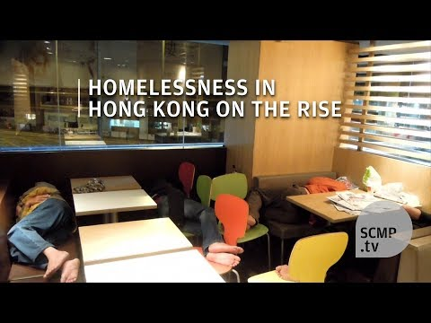 McRefugees: homeless people in Hong Kong are sleeping in 24-hour McDonald restaurants