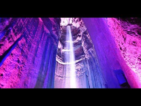 Ruby Falls, Amazing Underground Waterfall Inside a Majestic Cavern.