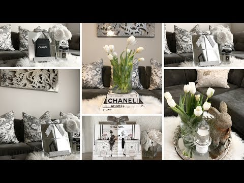 DIY HOME DECOR IDEAS 2018 | DOLLAR TREE DIY MIRROR DECOR | GLAM DIY