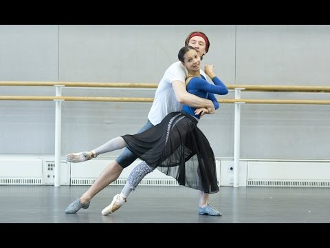 Watch: Rehearsals for The Royal Ballet's forthcoming programme of works by Ashton