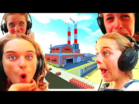 WHICH KID BUILDS THE BEST FACTORY In MINECRAFT Gaming W/ The Norris Nuts