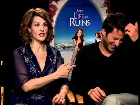 My Life in Ruins - Exclusive: Nia Vardalos and Alexis Georgoulis Interview