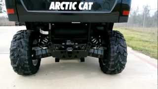 10. On Sale $9,499: 2013 Arctic Cat XT 550 Prowler in Titanium Metallic